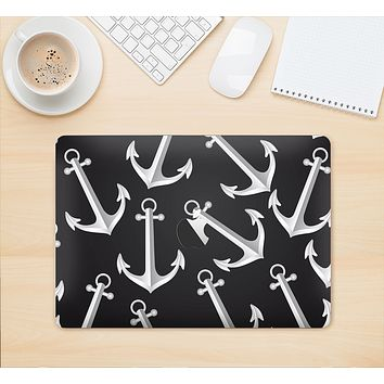 "The Black Anchor Collage Skin Kit for the 12"" Apple MacBook"