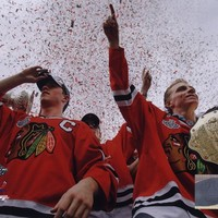 Jonathan Toews & Patrick Kane Chicago Blackhawks 2010 Stanley Cup Champions Victory Parade (#60)
