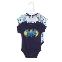2PK Batman Creeper Set 0 3m 399136875 | One Pieces | Baby Boy Clothes | Clothing More | Burlington Coat Factory