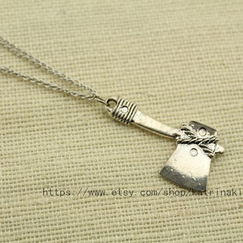 The axe Pendant Necklace Jewelry  Hill  Wow  the by katrinakishi
