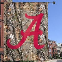 Alabama Crimson Tide 27'' x 37'' Vertical Banner - Realtree Camo