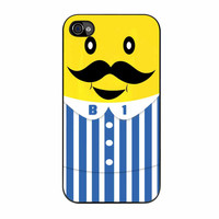 Mustache Banana iPhone 4 Case