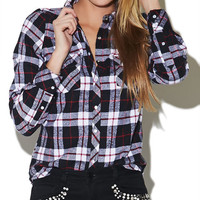 Plaid Flannel Shirt | Wet Seal