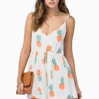 Reverse Pineapple Playsuit $58