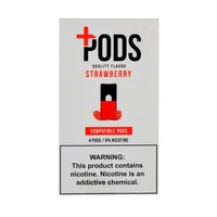 Plus Pods Strawberry Pack of 4