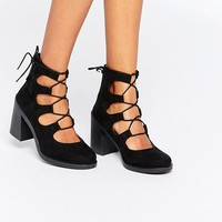 ASOS TANGERINE Lace Up Sandals