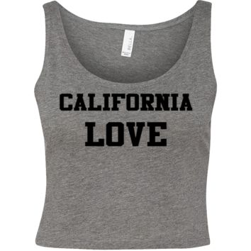 California Love Crop Top