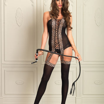 Reversible Suspender Bodystocking