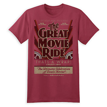 The Great Movie Ride Farewell Tee for Adults - Disney's Hollywood Studios - Limited Release | Disney Store