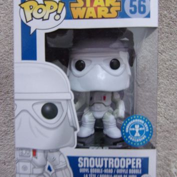 STAR WARS FUNKO POP! Figure Comes in POP Protector