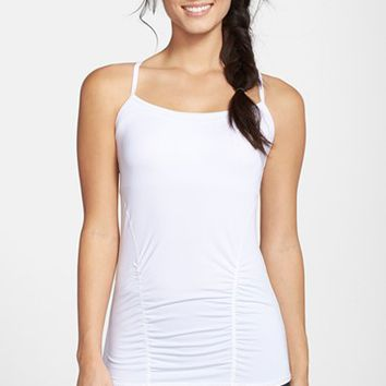 Women's Zella 'Focus' Shirred Tank