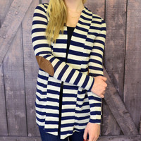 Harding Hills Elbow Patch Cardigan