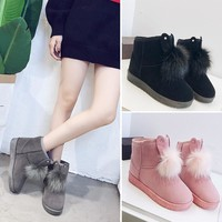 Hot Deal On Sale Winter Korean Lovely Boots [47584346119]