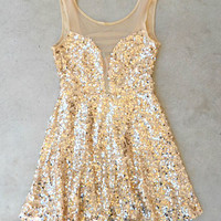 Charmed Sequind Party Dress