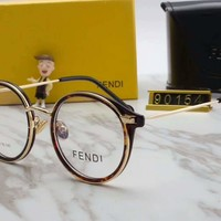FENDI Women Fashion Popular Shades Eyeglasses Glasses Sunglasses pink G-A-SDYJ