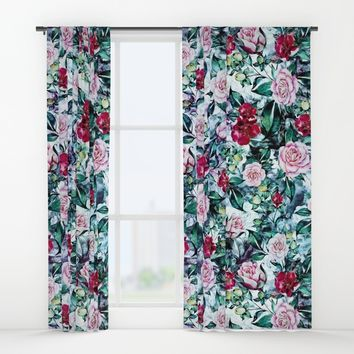 Beautiful Garden IV Window Curtains by RIZA PEKER