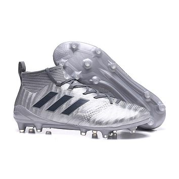 Adidas Ace 17+ Purecontrol Fg Size 39 45 Silver