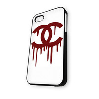 Chanel Logo Red White iPhone 5C Case