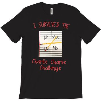 i survived charlie charlie T-Shirt
