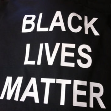 Black lives matter t-shirt Black tee ,protest stop shooting Eric Garner tshirts police 911 help save people