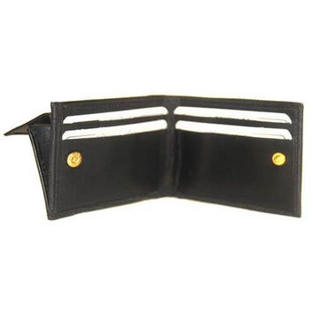 Small Genuine Leather Kids Bifold Wallet 86 (C)