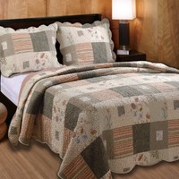 Greenland Home Sedona King 3-Piece Quilt Set