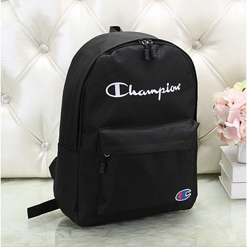 Champion Casual Sport Laptop Bag Shoulder School Bag Backpack