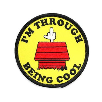 Through Being Cool Patch