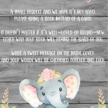 Pink Elephant Books for Baby