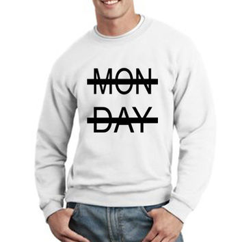 One Direction Sweatshirt Niall Horan Monday Logo Unisex Sweatshirt Crewneck tee size S,M,L #2
