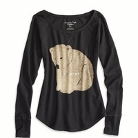 AEO Women's Merry Maker Thermal (Ebony Grey)