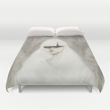 From the Other Side Duvet Cover by Ben Geiger