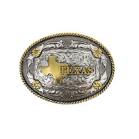 Cody James® Oval Dual-Tone Texas Buckle