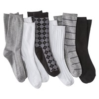 Merona® Women's 6-Pack Crew Socks - Assorted Colors/Patterns