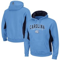 North Carolina Tar Heels (UNC) Turf Fleece Pullover Hoodie - Carolina Blue