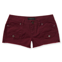 Color-Wash Cargo Shorty Shorts
