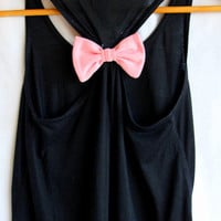 Plain Bow Tank Top- Choose Any Bow Color