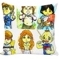 Goonies Cartoon Pillow