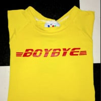 SWEET LORD O'MIGHTY! BOYBYE CROP TEE