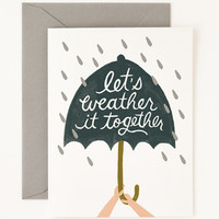 Rifle Paper Co. - Weather it Together Card