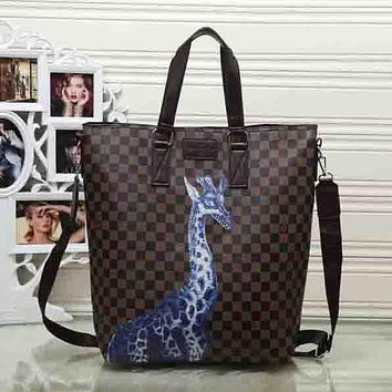 Perfect Louis Vuitton Women Shopping Bag Leather Handbag Satchel Shoulder Bag Crossbody