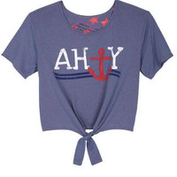 Ahoy Anchor Tee
