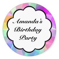 Birthday Party Sticker