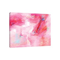 'While She Dances' Painting Print on Wrapped Canvas