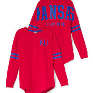 University of Kansas Varsity Crew - PINK - Victoria's Secret