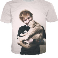 Ed Sheeran and his kitty