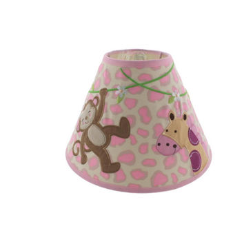 Koala Baby Baby Girl Monkey/Giraffe Nursery Lamp Shade