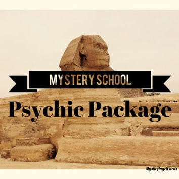Mystery School Psychic Reading Package, Psychic Reading, Mysteries, Deal, Ancient Mystery School, accurate and in-depth readings