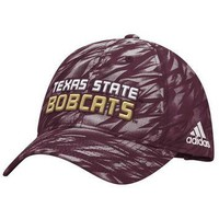 adidas Men's Texas State University Sideline Adjustable Slouch Cap | Academy
