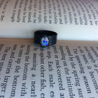 Raw Opal Ring Size 4.5